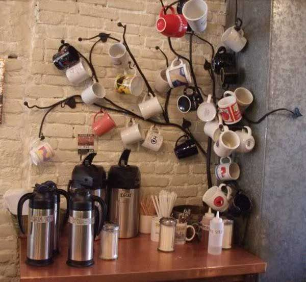 cool nice awesome 30 Fun and Practical DIY Coffee Mugs Storage Ideas for Your Home by... by http://www.top99-homedecor.xyz/dining-storage-and-bars/nice-awesome-30-fun-and-practical-diy-coffee-mugs-storage-ideas-for-your-home-by/