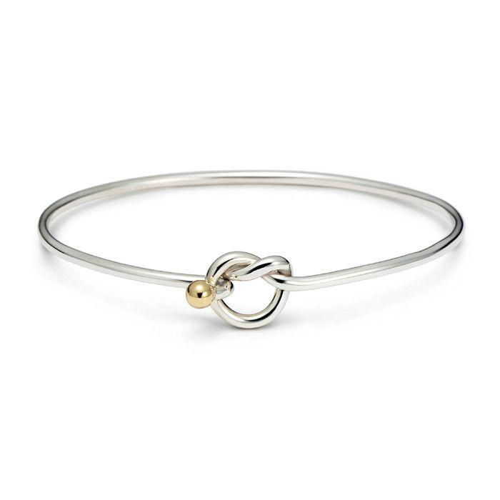 Love Knot Bangle Bracelet Jewelry Etc Pinterest Fashion Bangles And