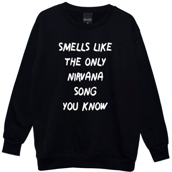 Smells Like Boyfriend Oversized Sweater Jumper Womens Ladies Fun Tumblr Hipster Fashion Grunge Punk