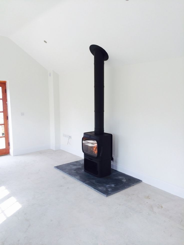 The Jotul 205 is a lovely freestanding stove and it's unique design is definitely a talking point.     #jotul #fire #stove #freestanding #modern #contemporary #design #unique #hearth #bespoke #twin #wall #flue #kernowfires #wadebridge #redruth #cornwall