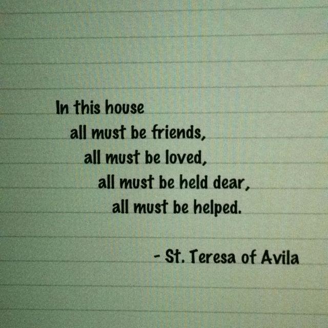 Quote - St. Teresa of Avila