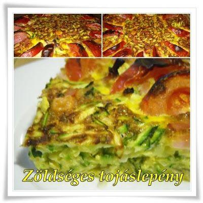 Házias konyha: Zöldséges tojáslepény