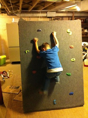 Something safe for naughty kids to climb instead of furniture! It's too late 4 a much deserved butt whippin after a broke bone! Never though of that @Laura