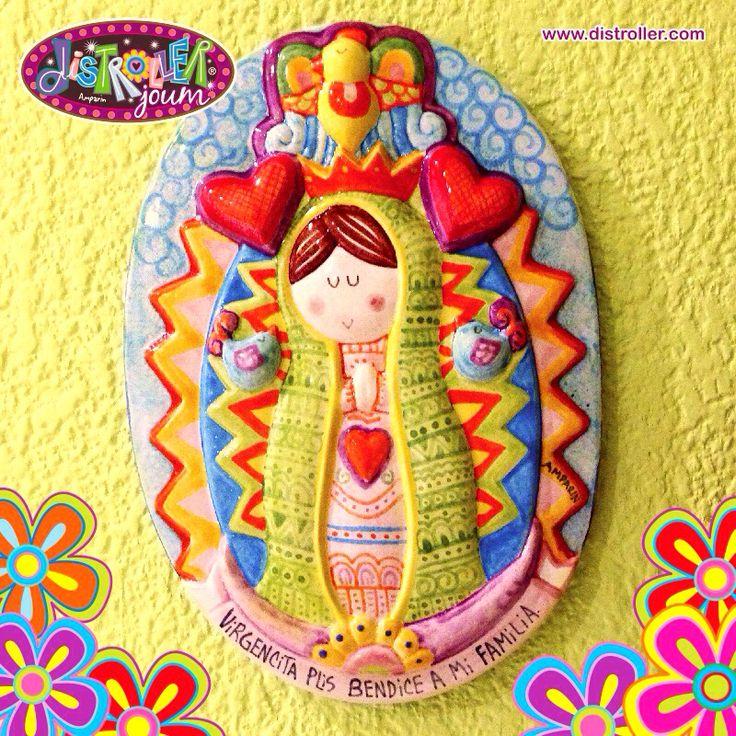 """Virgencita Plis cuida a mi familia dentro y fuera de la """"jaus"""""""
