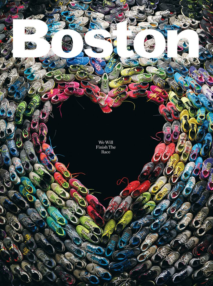 The Shoes We Wore: Some of them completed the race. Others were stopped before the finish line. Here is what they ran in, and what they witnessed, during the 117th Boston Marathon.