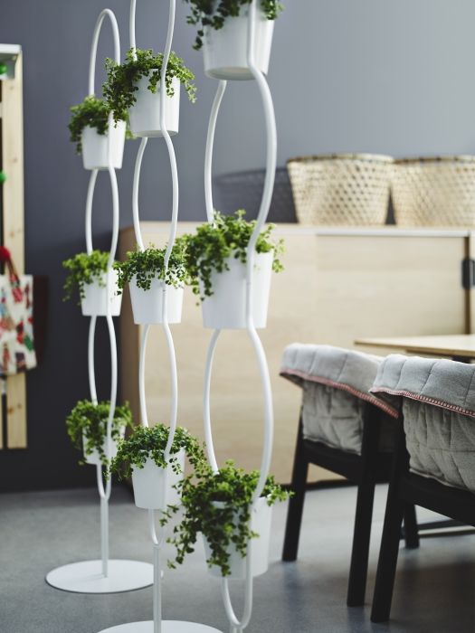 Ikea Ps 2012 Plant Stand With 3 Plant Pots Ps Outdoors
