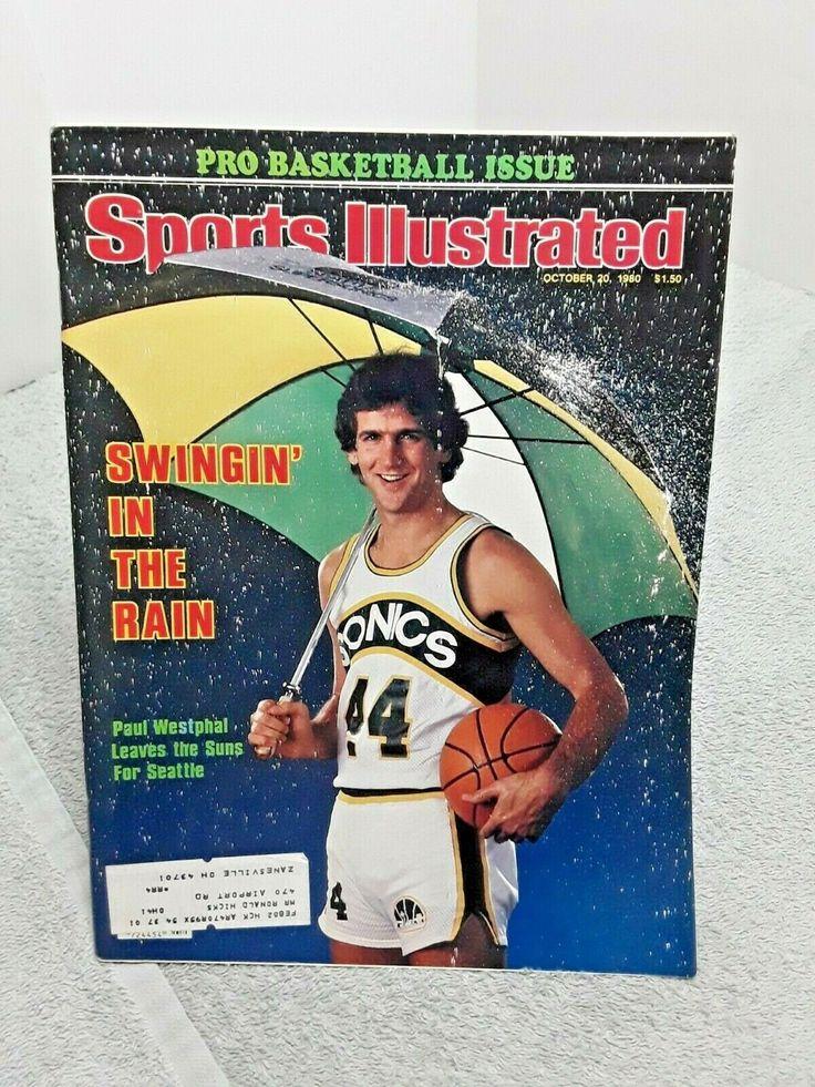 Sports Illustrated October 1980 Vintage Magazine Paul
