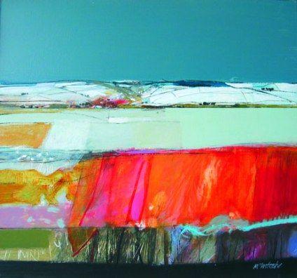 """Archibald Dunbar McIntosh  RGI RSW   """"Winter Fields """""""