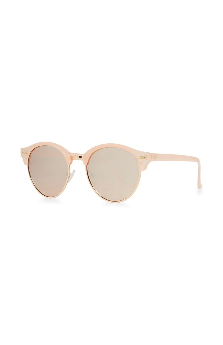 Primark - Retro Round Blush Sunglasses