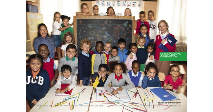 The new #OlivieroToscani #Benetton #campaign on #integration