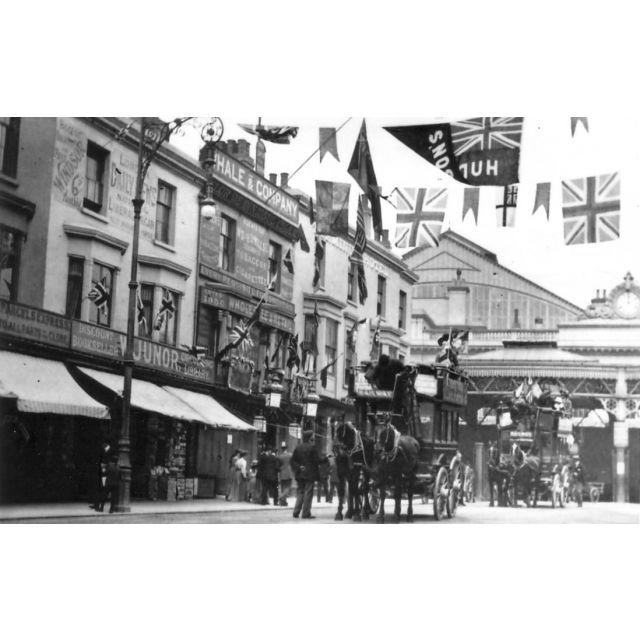 Queens Road, Brighton, East Sussex [1897 Diamond Jubilee].