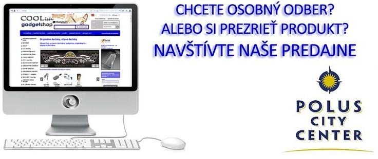 Originálne darčeky www.COOLish.sk