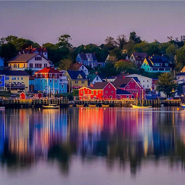 Lunenberg in Nova Scotia is one of only two communities on North America's continent that is designated as a #UNESCO World Heritage site. It's also considered to be the best surviving British colonial town! Thanks @theplanetd for sharing using #bbctravel!