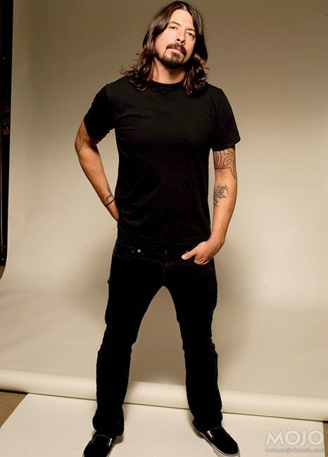Dave Grohl is one of those musicians that can play multiple instruments and still be amazing at each one. Dave is awesome in so many ways and he is a Rock God in the making