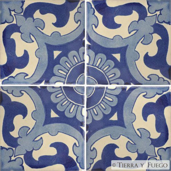 Mexican Tile Blue Capri