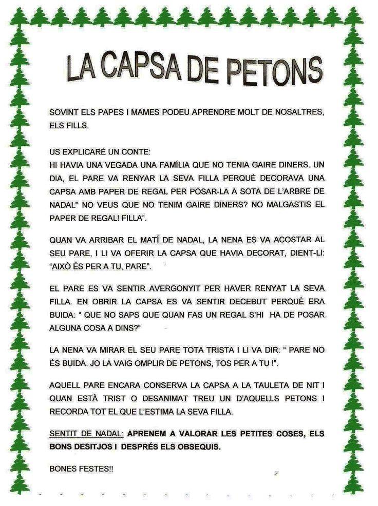 CAPSA DELS PETONS. Carta