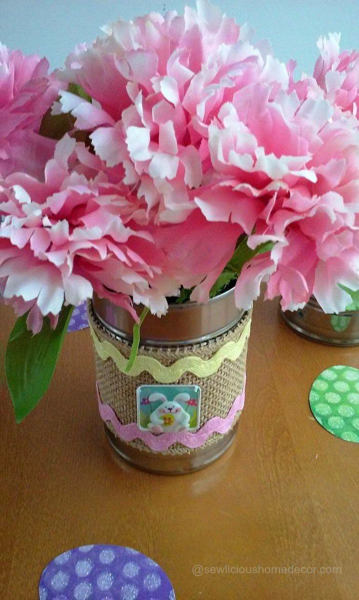 Easter Tin Can Crafts | FaveCrafts.com