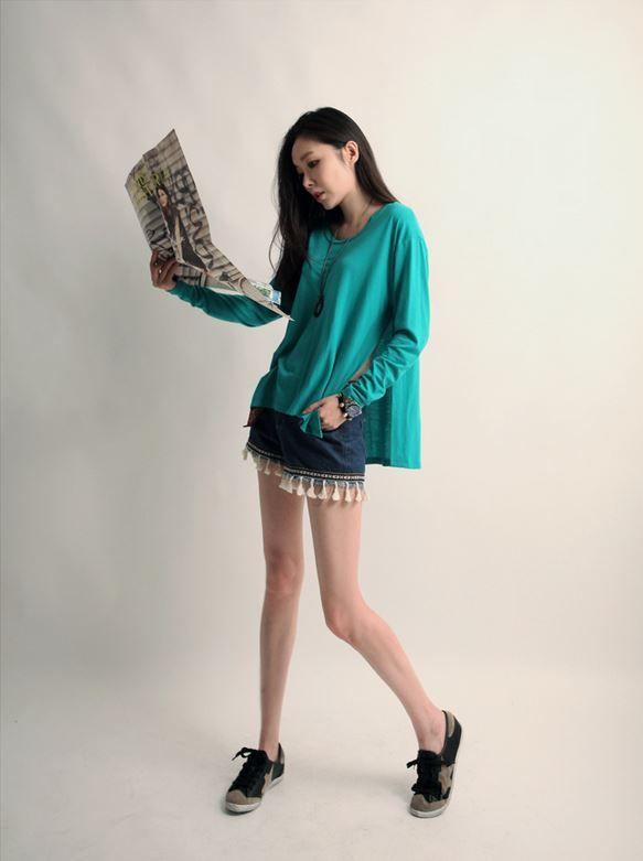 Korea feminine clothing Store [SOIR] Surgery independent Pants (2Color, Beltset) / Size : S, M / Price : 27.21USD #korea #fashion #style #fashionshop #soir #feminine #special #lovely #luxury #pants #shorts #white #dark blue