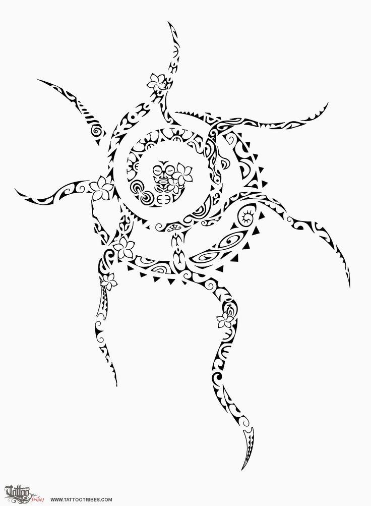 Tatuaggio di Whitinga o te ra, Splendore del sole tattoo - custom tattoo designs on TattooTribes.com