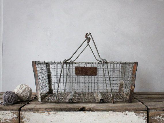 17 Best Ideas About Vintage Wire Baskets On Pinterest