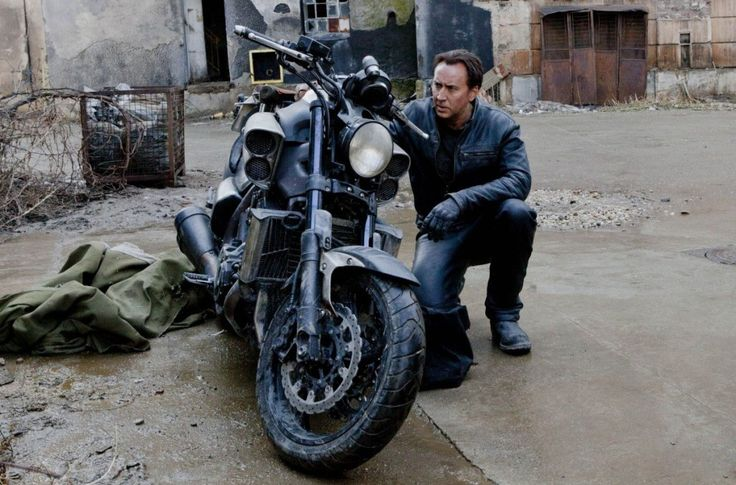 Ghost rider, Nicolas cage and Ghosts on Pinterest