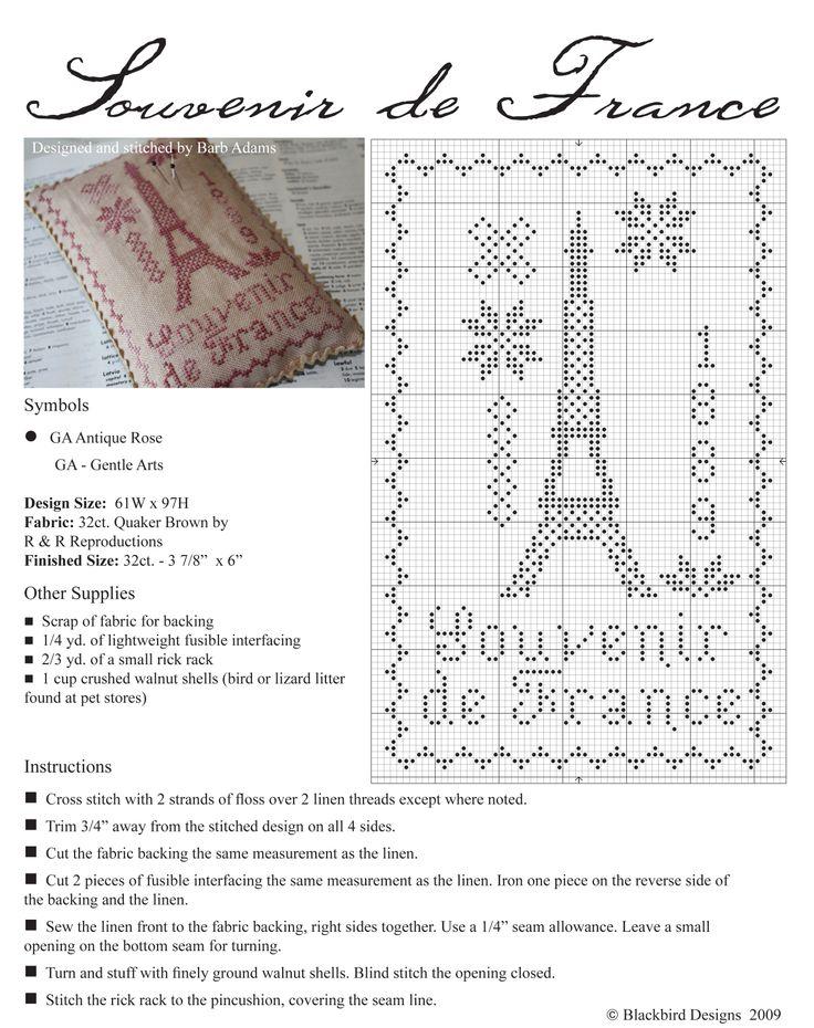 Souvenir de France by Blackbird Design                                                                                                                                                                                 More