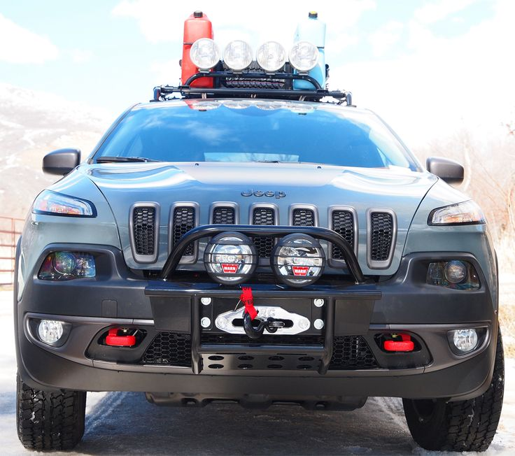 2014+ Cherokee bumper with winch