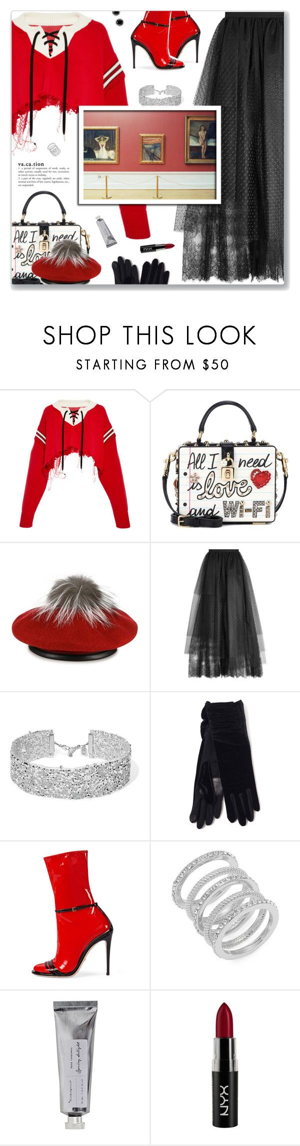 """""""Upgrade U (feat. Jay-Z), Beyoncé"""" by blendasantos ❤ liked on Polyvore featuring Monse, Dolce&Gabbana, Eugenia Kim, Elie Saab, DANNIJO, Echo, Gucci, Cole Haan, Bloomingville and NYX"""