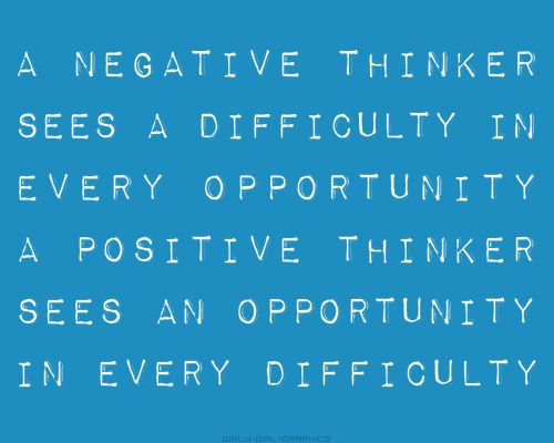 how to become more positive thinker