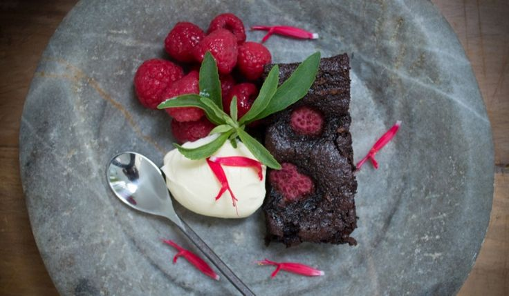 Berry Nice Brownies with sweet potatoes!