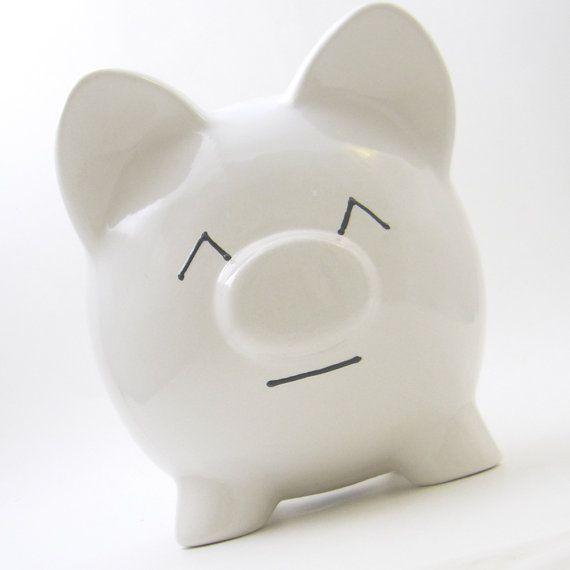 #HappyEmoticon #Piggy#Bank   The Original Emoti-Pig  by #ThePigPen #mothersdaygift