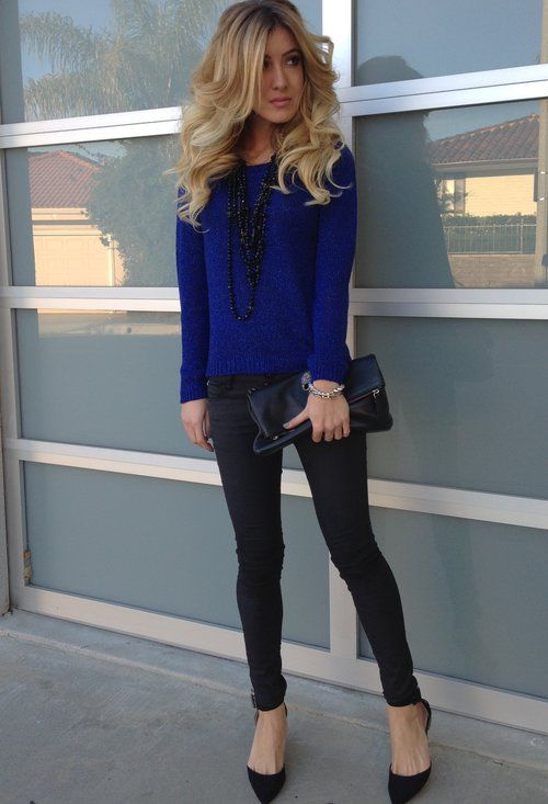 47 best Royal Blue Sweater images on Pinterest   Blue sweaters ...