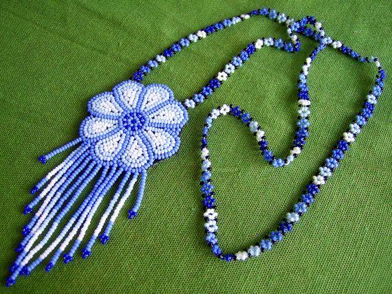 Mexican Huichol Peyote necklace
