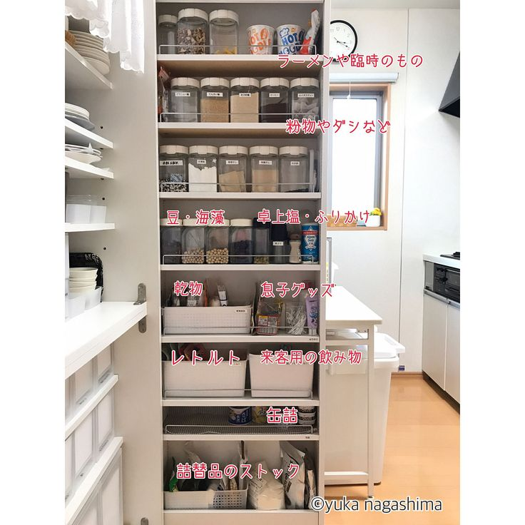 Kitchen/収納/キッチン/パントリー/保存容器/パントリー収納のインテリア実例 - 2017-12-26 08:16:11