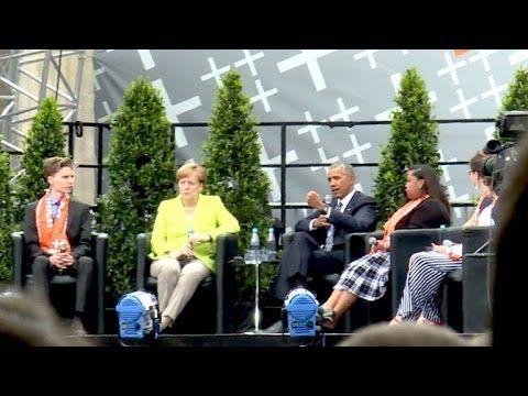 Obama sorgt auf dem Kirchentag für Jubel