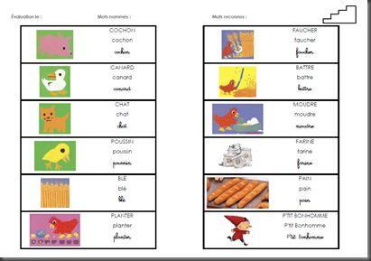 activité sur la petite poule rousse en maternelle - Recherche Google