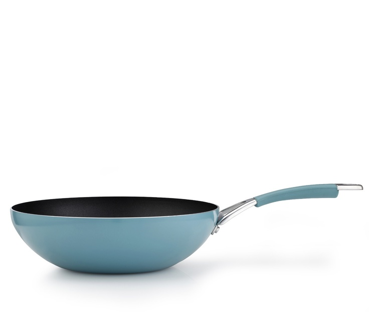 Inspire 28cm stir fry pan - this stir fry pan has been made from high quality aluminium and features Prestige's innovative Cushion Smart interior for improved performance. Available for £28.80.