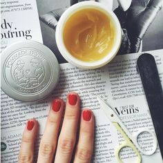 Treat your nails using Pommade Divine to moisturise and soften rough cuticles. Pommade Divine Nature's Remedy Balm is ideal for any challenging skin conditions, especially great for Eczema #Eczema   #PommadeDivine   http://www.theremustbeabetterway.co.uk/pommade-divine-natures-remedy-balm.html #Nails #Cuticles #Manicure #Pedicure #NailPolish #NailVarnish