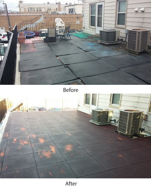 Chicago Non Profit Research Determines Sterling Roof Top Tiles As Best Surface For Rooftop Patio