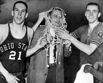 Larry Siegfried, Coach Fred Taylor and Jerry Lucas