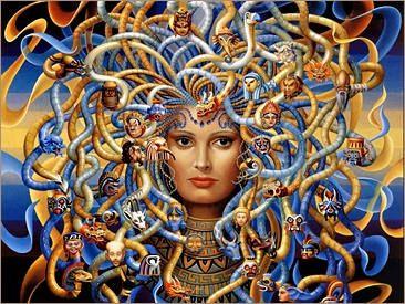 Mitología griega (página 2) - Monografias.com Medusa