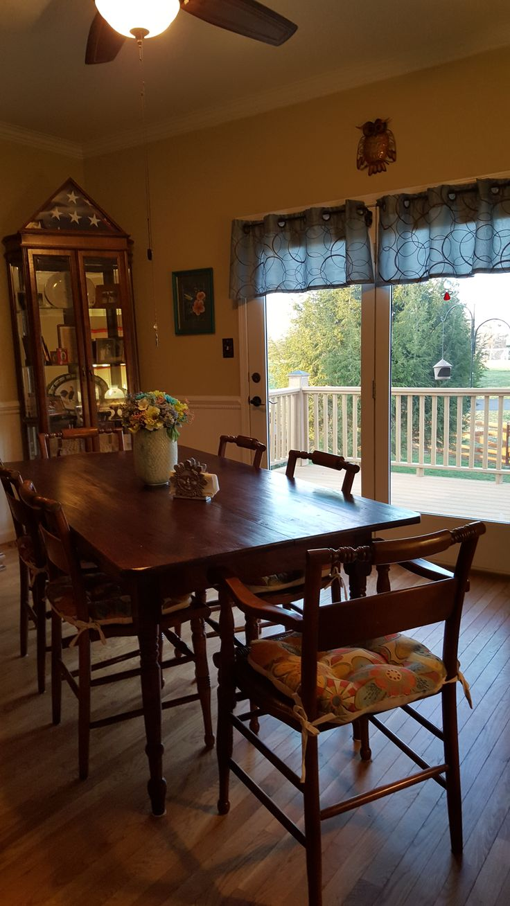 Chair Rail 2015 Part - 46: Early 1800u0027s Pine Farm Table Purchased At Antique Dealer In Crossville, TN ( 2015)