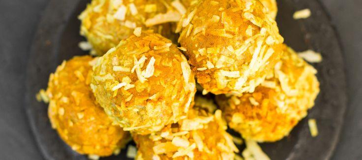 Turmeric & Honey Golden Bliss Balls | Changing Habits