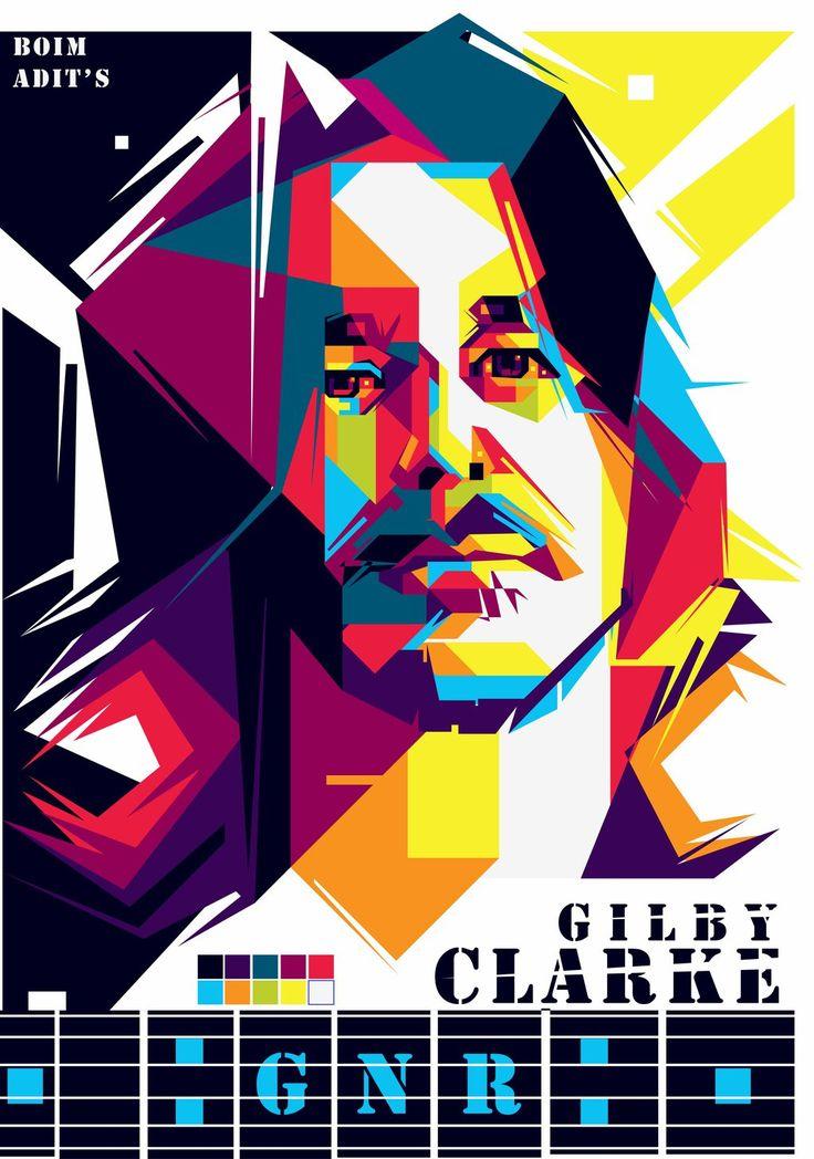 Gilby Clarke WPAP by adityasp
