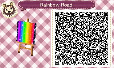 Animal Crossing: New Leaf rainbow road