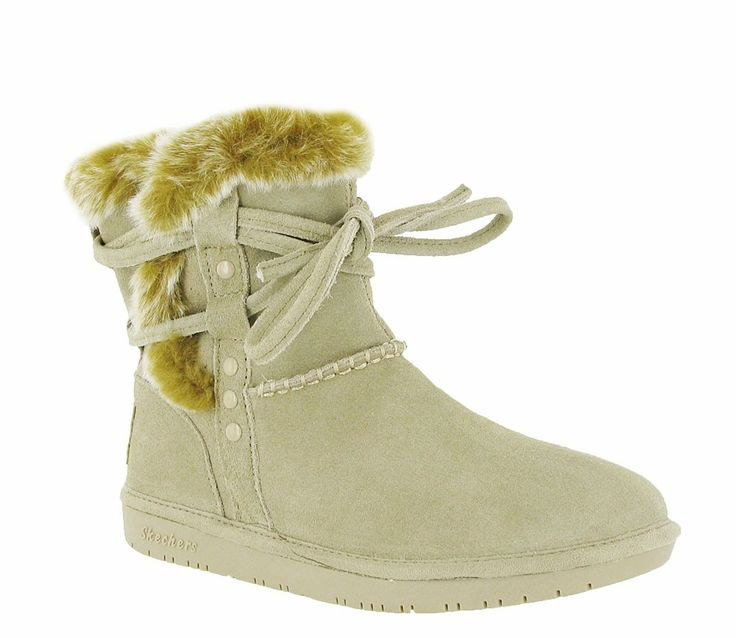 Skechers SK48005 Ladies Shelbys Wam Lined Pull On Ankle Boot - Robin Elt Shoes  http://www.robineltshoes.co.uk/store/search/brand/Skechers-Ladies/ #Autumn #Winter #AW13