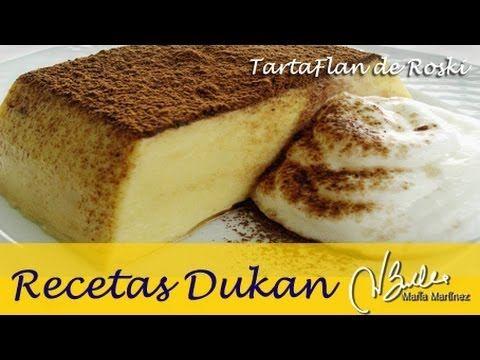 ▶ Adelgazar: Tarta Flan en microondas, de Roski (Dieta Dukan Crucero) / Diet Cream Cheese Flan - YouTube