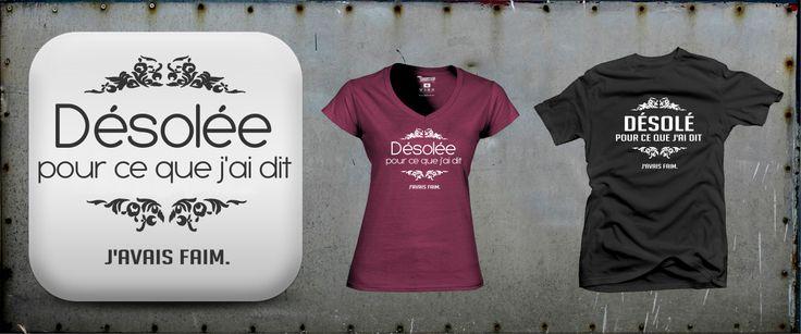 Voici un tee shirt qui peut excuser toutes vos saute-d'humeur : www.tshirtvip.com/