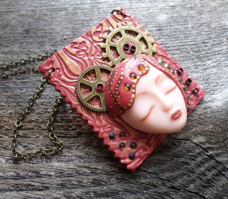 Clay sculpted steampunk pendant . . . . .  #steampunk #steampunkstyle #steampunkjewelry #steampunkpendant #steampunketsy #handmade #steampunkart #steampunknecklace #clayart #steampunkgirl #steampunkgoth #steampunkdesign #altfashion #altjewelry #alternativejewelry #clayjewelry #handmadesteampunk #instajewelry #jewelrygram #jewelrydesign #jewelrydesigner #jewelryaddict #customjewelry #fashionjewelry #etsy #etsyshop #etsyseller #etsyfinds #etsystore #zbesties