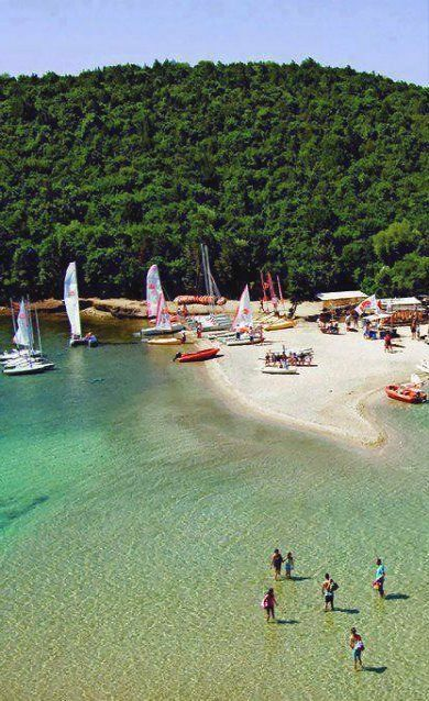 Bella Vraka beach, Sivota of Thesprotia, Epirus, Greece